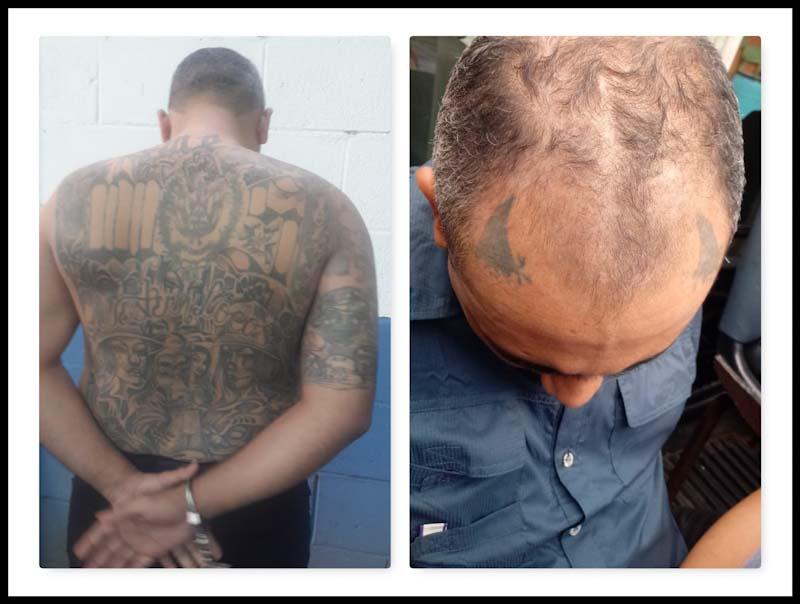 Josué Jonathan Ascencio López, de 31 años, fue capturado este miércoles frente al zoológico nacional. En su vivienda le encontraron más de siete mil dólares en efectivo que, según la PNC, es producto de extorsiones.